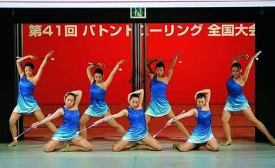第41回バトントワーリング全国大会(銀賞)